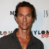 Matthew McConaughey at Nylon Guys Party | Video