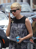 Michelle Williams carried her keys and phone.