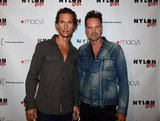 Matthew McConaughey and Marvin Scott Jarrett attended the celebration of the Nylon Guys and Macy's Inc. September issue.