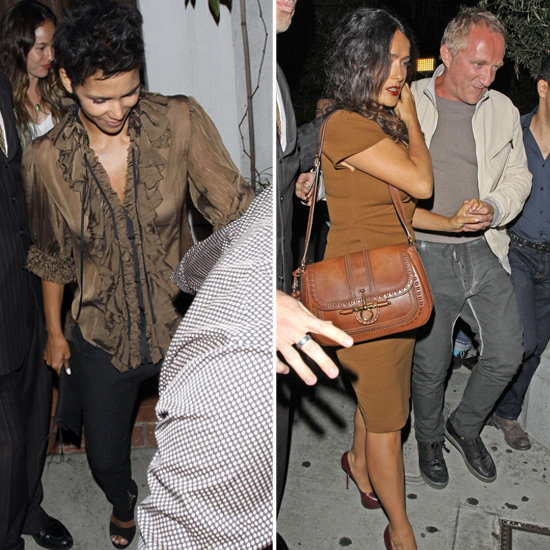 Halle Berry and Salma Hayek Party With Their French Men