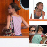 Vanessa Paradis Vacations With Jack and Lily-Rose