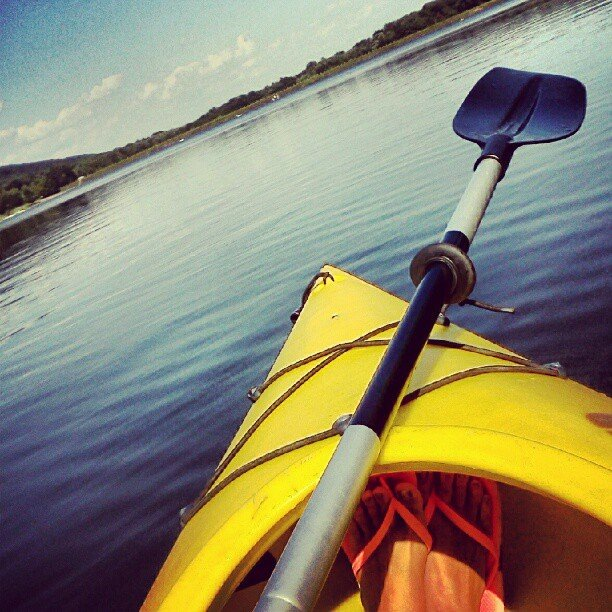 Go Kayaking