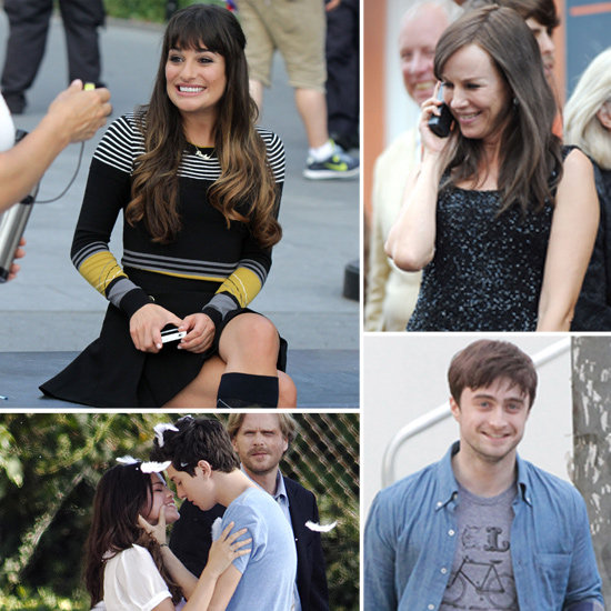 Naomi Watts, Selena Gomez, Lea Michele, and More Stars on the Set