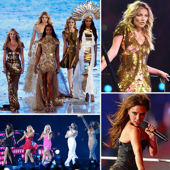 With a Spice Girl reunion and Team Supermodel working the runway, the Olympics closing ceremony was quite the event.