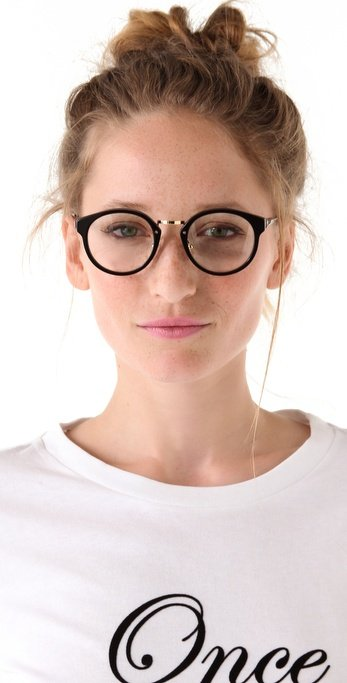 Is there such a thing as Harry Potter chic? If so, these specs are definitely it — and the lenses can be easily replaced with prescription ones. Super Sunglasses Panama Glasses ($198)