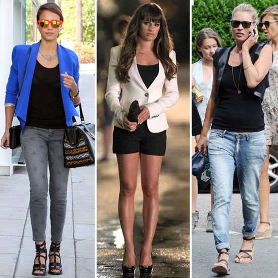 Celebrity Style Recap  Aug. 18, 2012  POPSUGAR Fashion