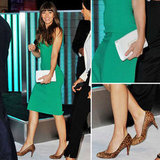 Jessica Biel Makes Green the Sexiest Hue of All