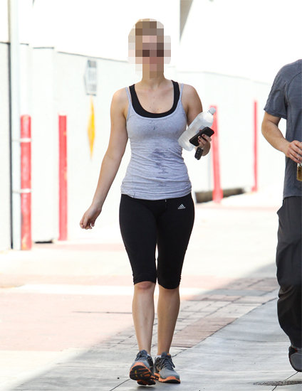 Guess Which Actress Got Sweaty at the Gym?