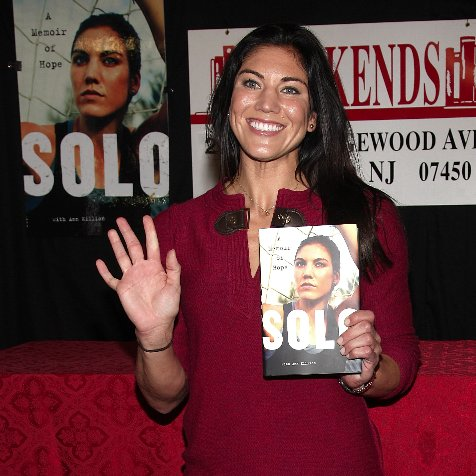 Hope Solo on Brandi Chastain in New Book