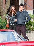 Miranda Kerr and Orlando Bloom took a stroll in Sydney together.