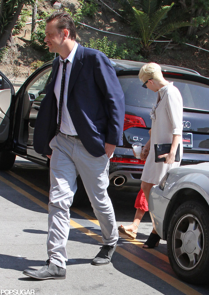 Jason Segel and Michelle Williams took Matilda out in LA.