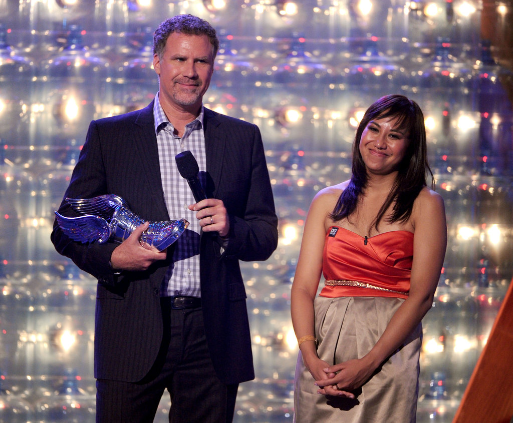 Will Ferrell was on stage with Katia Gomez at the Do Something Awards.