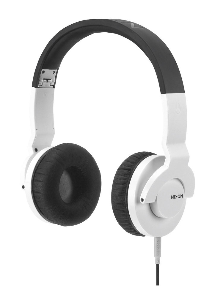 Any music lover, with a penchant for jamming out with the volume on full blast, would appreciate this slick just-released style from Nixon. It's chic, crisp white, and will definitely allow you to listen to your playlists at an unusually loud decibel. Nixon The Stylus Headphones ($130)