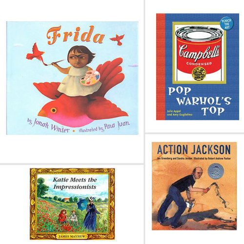 Books That Introduce Kids to Artists