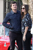 Miranda Kerr and Orlando Bloom Hold Hands After a Sydney Lunch Date at Chiswick