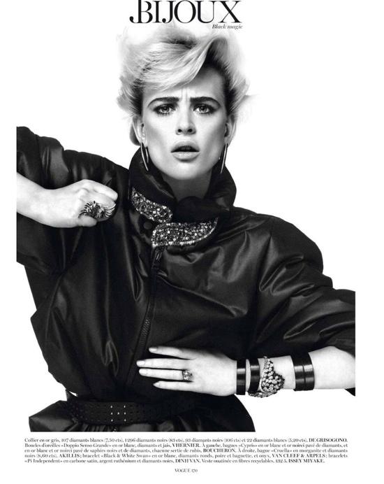 vogue paris september 2012 photographer giampaolo sgura model milou    Vogue September 2012