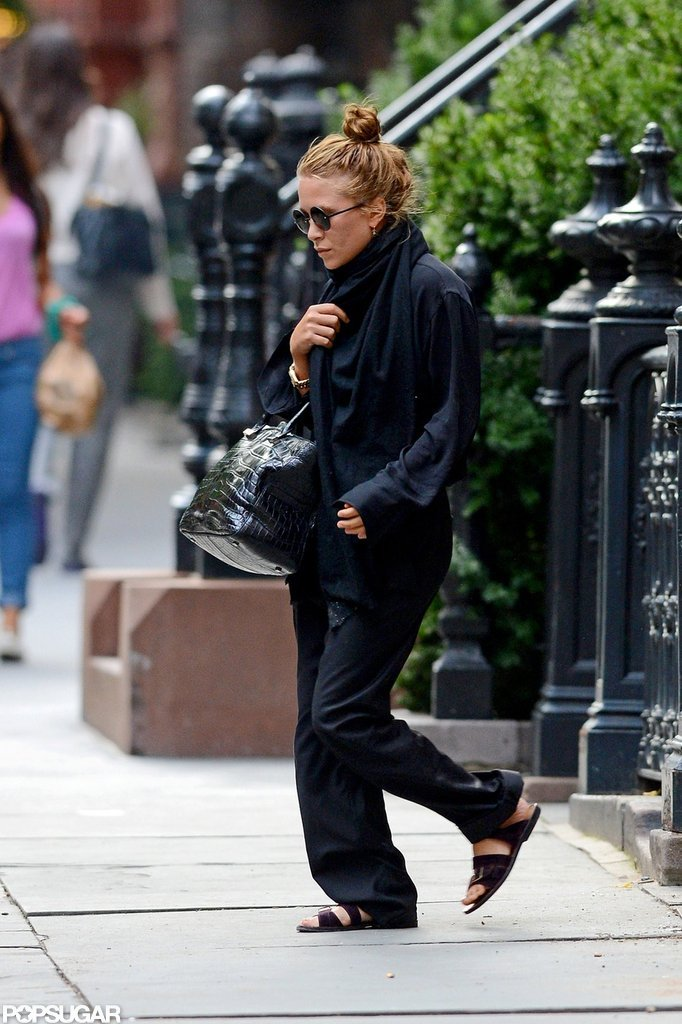 Mary-Kate Olsen checked out her new townhouse in NYC.