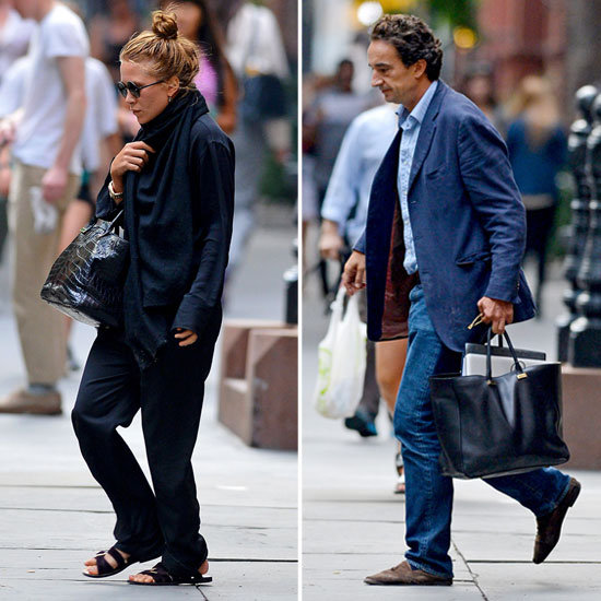 Mary-Kate Olsen Checks Out a Possible Love Nest With Her Man