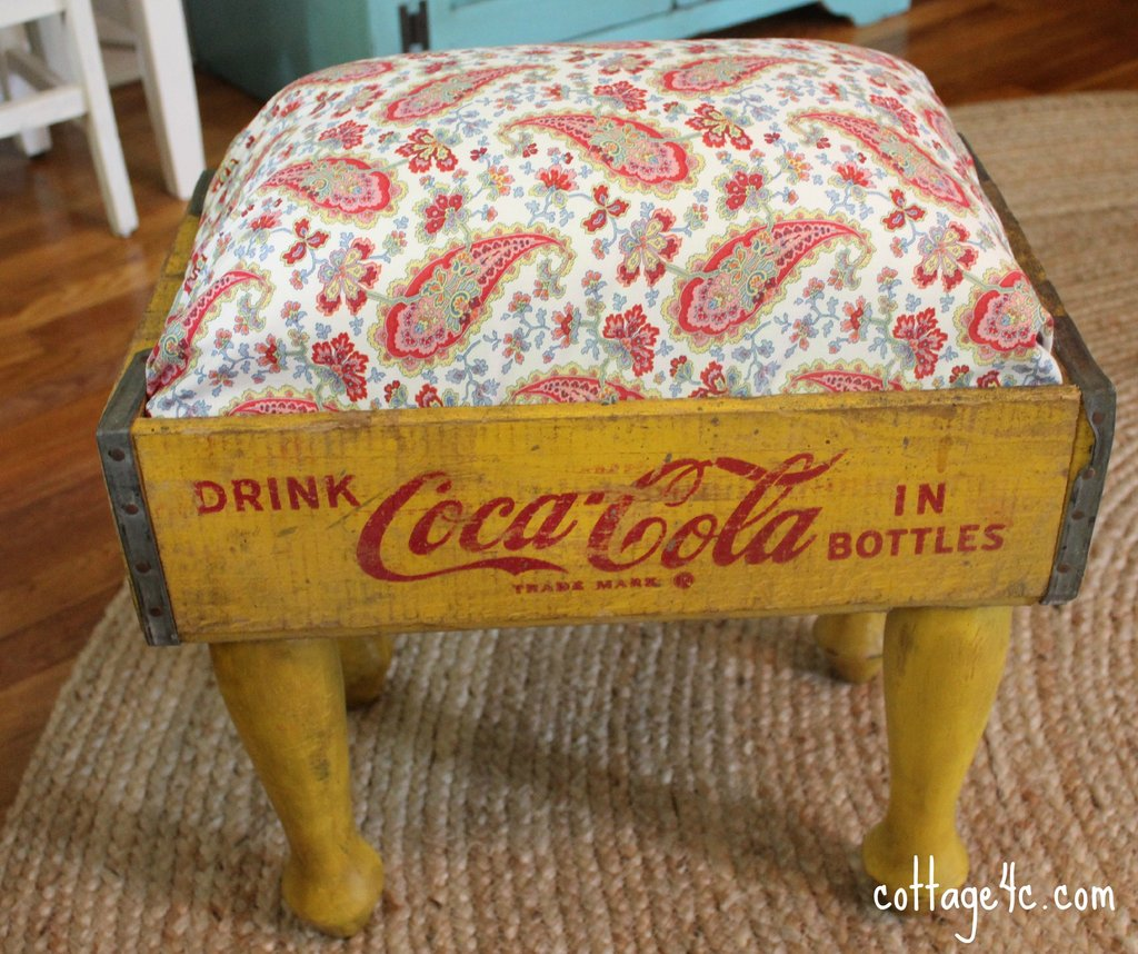 Soda Crate Footstool