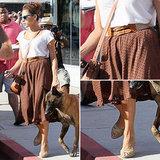 Eva Mendes Street Style | August 21, 2012