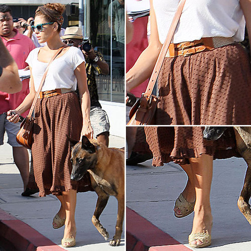 Another Day, Another Reason Why Eva Mendes Is Our Retro Bombshell