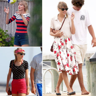 Taylor Swift Outfits in Cape Code 2012