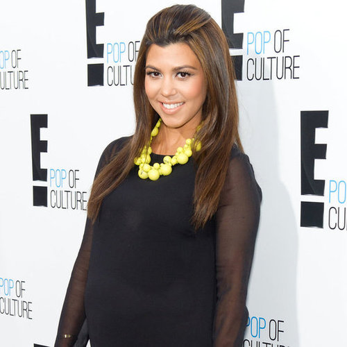Kourtney Kardashian Pregnancy Weight Gain