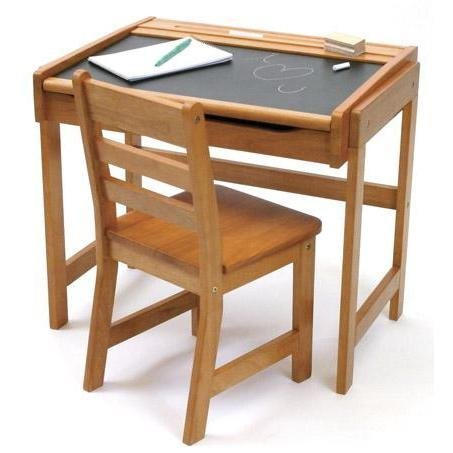 Lipper International Child's Chalkboard Desk Set ($110)