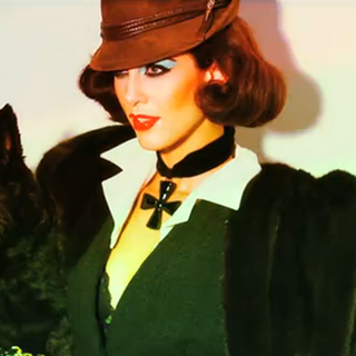 Carine Roitfeld Elizabeth Taylor-Themed V Magazine [Video]