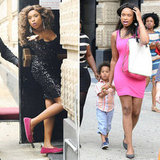 Jennifer Hudson and Her Son Make a Splash on the Smash Set
