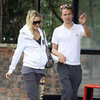 Kate Hudson and Matthew Bellamy Pictures Holding Hands Leaving Gym in London