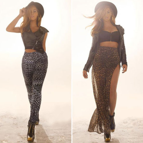 Beyonce in House of Dereon Fall 2012 Ads