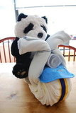 Crafts: Baby Shower Panda on a Chopper