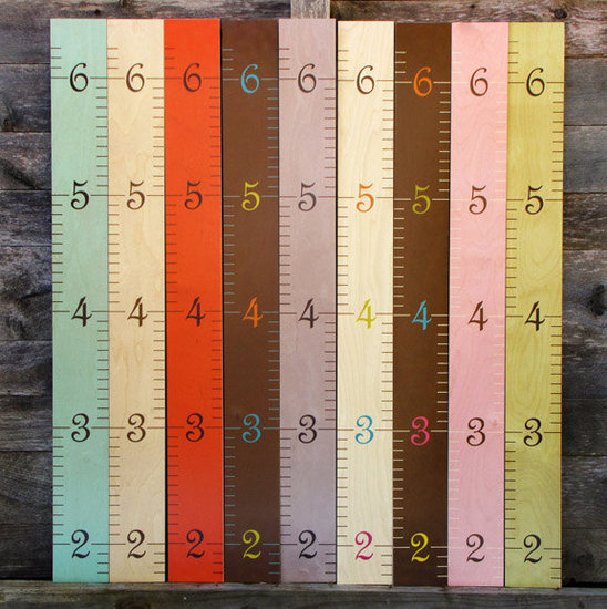 Wooden Ruler Growth Chart ($85)