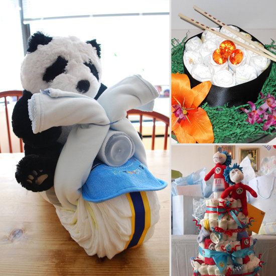 Nappy Art: 16 Diaper Cakes to Dazzle Your Shower Guests