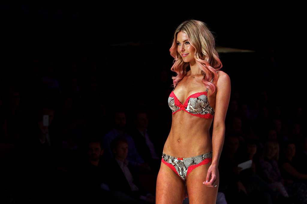 Jennifer Hawkins Hits the Runway in Sexy Lovable Lingerie For Bendon