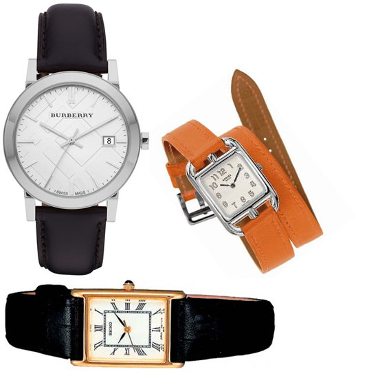 Accessory of the Week: Leather-Strap Watches