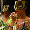 Backstage and Behind the Scenes at 2012 Mercedes Benz Fashion Festival