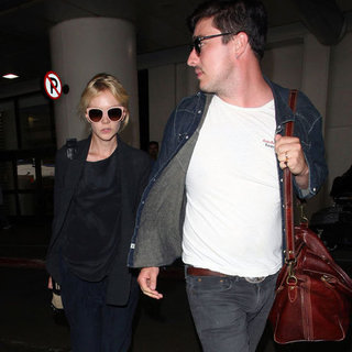 Carey Mulligan and Marcus Mumford at LAX | Pictures