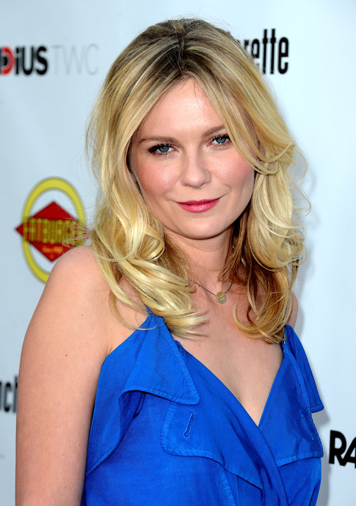 Kirsten Dunst posed at the Bachelorette premiere in LA.