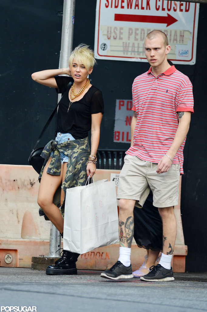 Miley Cyrus wore Doc Martens.