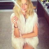 We love a fresh-faced beauty! Lara Bingle bared nearly all as she worked that bedhair.
