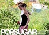 Anne Hathaway and Adam Shulman Share Some Summer Lovin'
