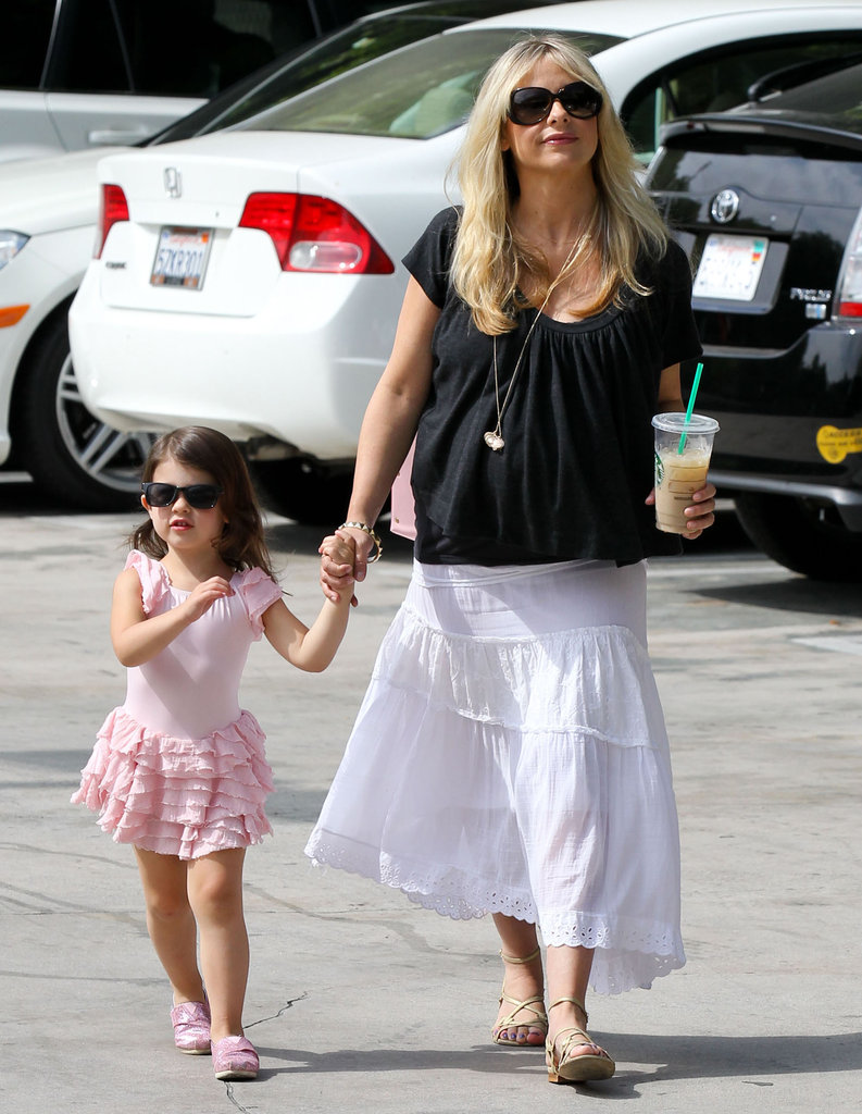 Sarah Michelle Gellar Spends the Day With Her Tiny Dancer