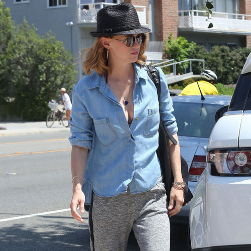 January Jones Tuxedo Pants