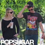 Emma Stone and Andrew Garfield ran errands in LA.