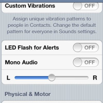 How to Turn on iPhone Light Flash Alerts