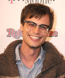Matthew Gray Gubler of Criminal Minds looked criminally cute in his vintage-style glasses.