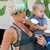 Pink With Baby Willow | Pictures