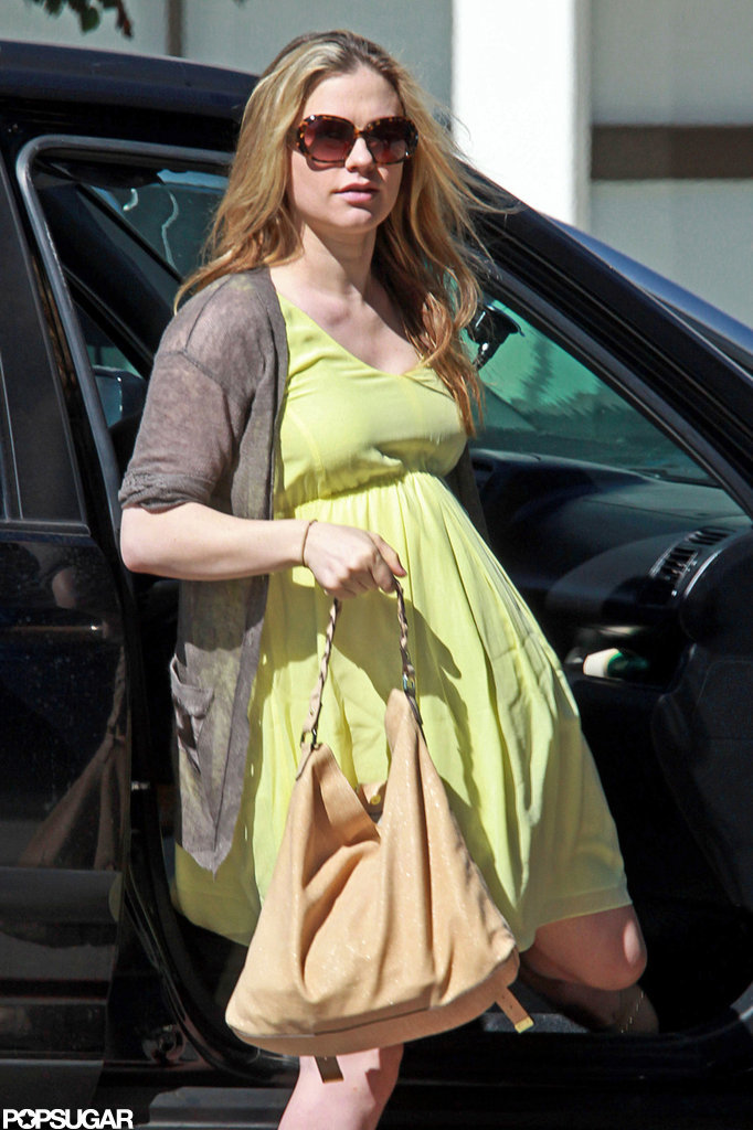 Anna Paquin headed out in LA.
